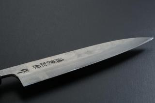 Petty knife [Maboroshi] + Octagonal handle with buffalo horn ferrule